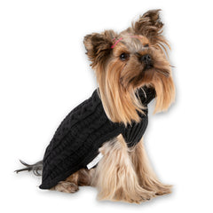 Bali the Dog dog cable knit sweater merino wool, dog clothes, BalitheDog, koiran villaneule, muotia koirille