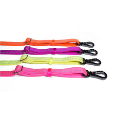 Bali the Dog Reflective Dog leash mixed colors, dog leash with reflective details