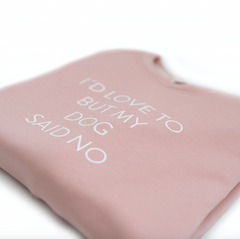 Bali the Dog Dog Mum Sweatshirt in light Pink from balithedog