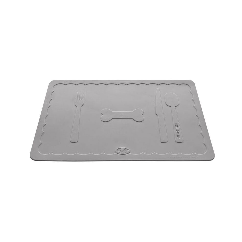 floor feeding mats width waterproof food tray pet mat cat bowl water dish dog length itm wipe s placemat clean