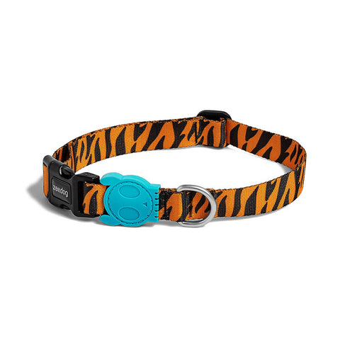 Bali the Dog ZeeDog Ayo Dog Collar, cool animal pattern and nice details. perfect for your dog!