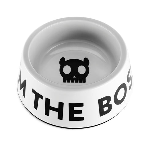 ZEEDOG Dog Bowl Boss White