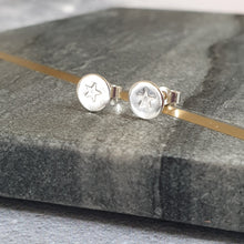 Star Silver Stud Earrings