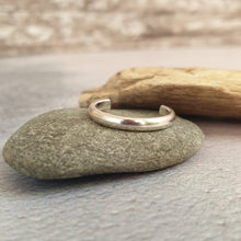 Silver Slim Toe Ring
