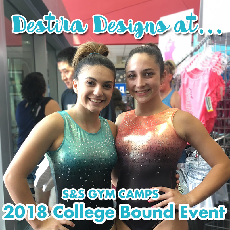Destira & S&S Gym Camps: College Showcase Leotard Designs