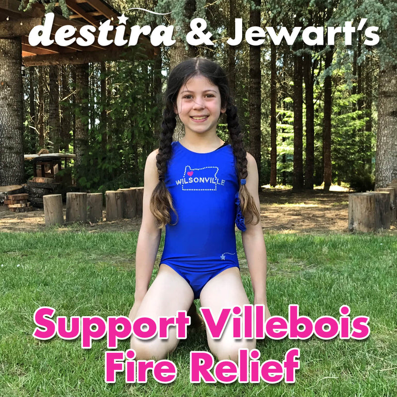 Destira Donates & Jewart's: Funds for Villebois Fire Relief