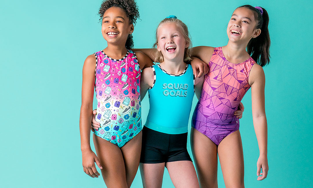 gymnastics friends destira leotards