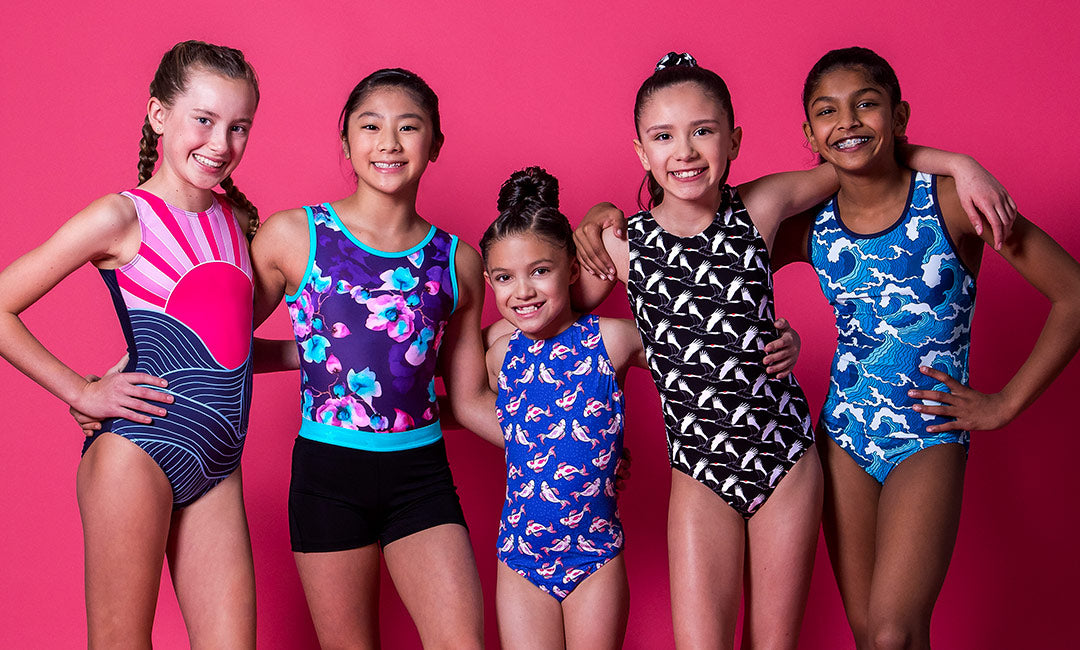 destira new gymnastics leotards japan