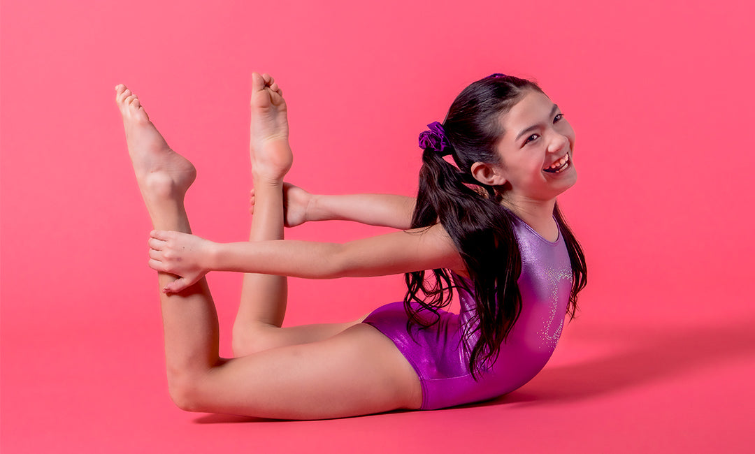 at-home gymnastics challenges fitness kids