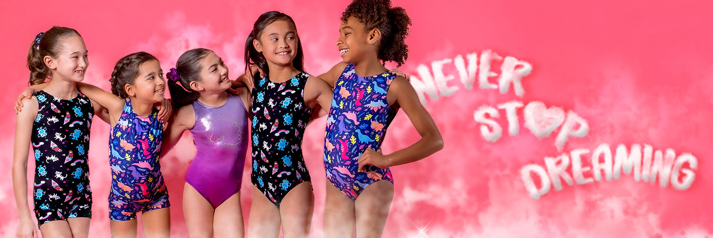 best-gymnastics-leotards-new-collection-five-gymnasts