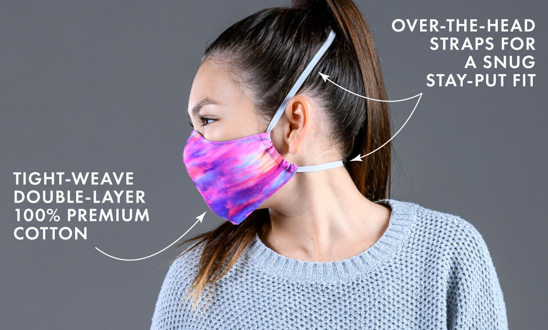 comfortable stay-put masks for back to school