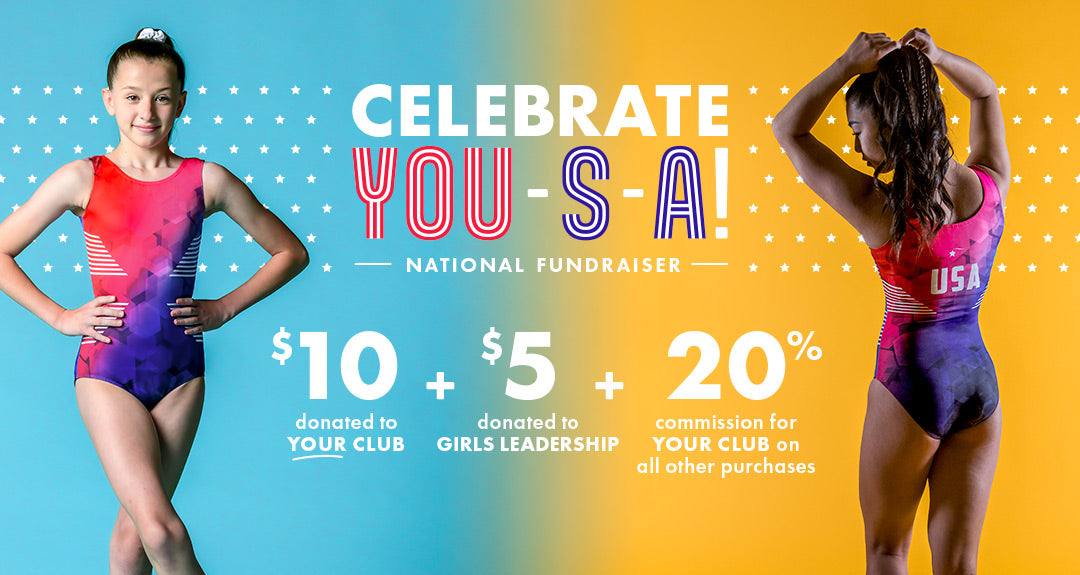 Celebrate YOU-S-A! National Fundraiser banner