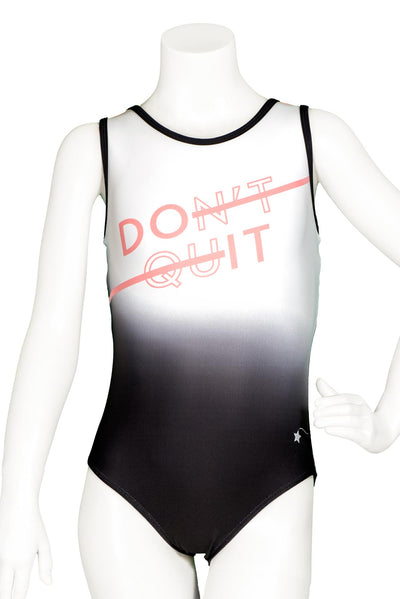 Do It, Don't Quit Leotard