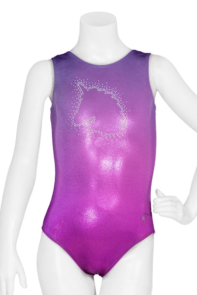 Unicorn Glow Ombre Leotard
