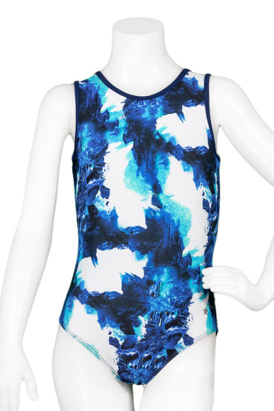 Dimensional Wave Leotard