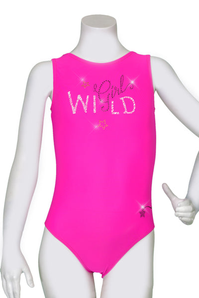 Wild Girl Fuchsia Leotard