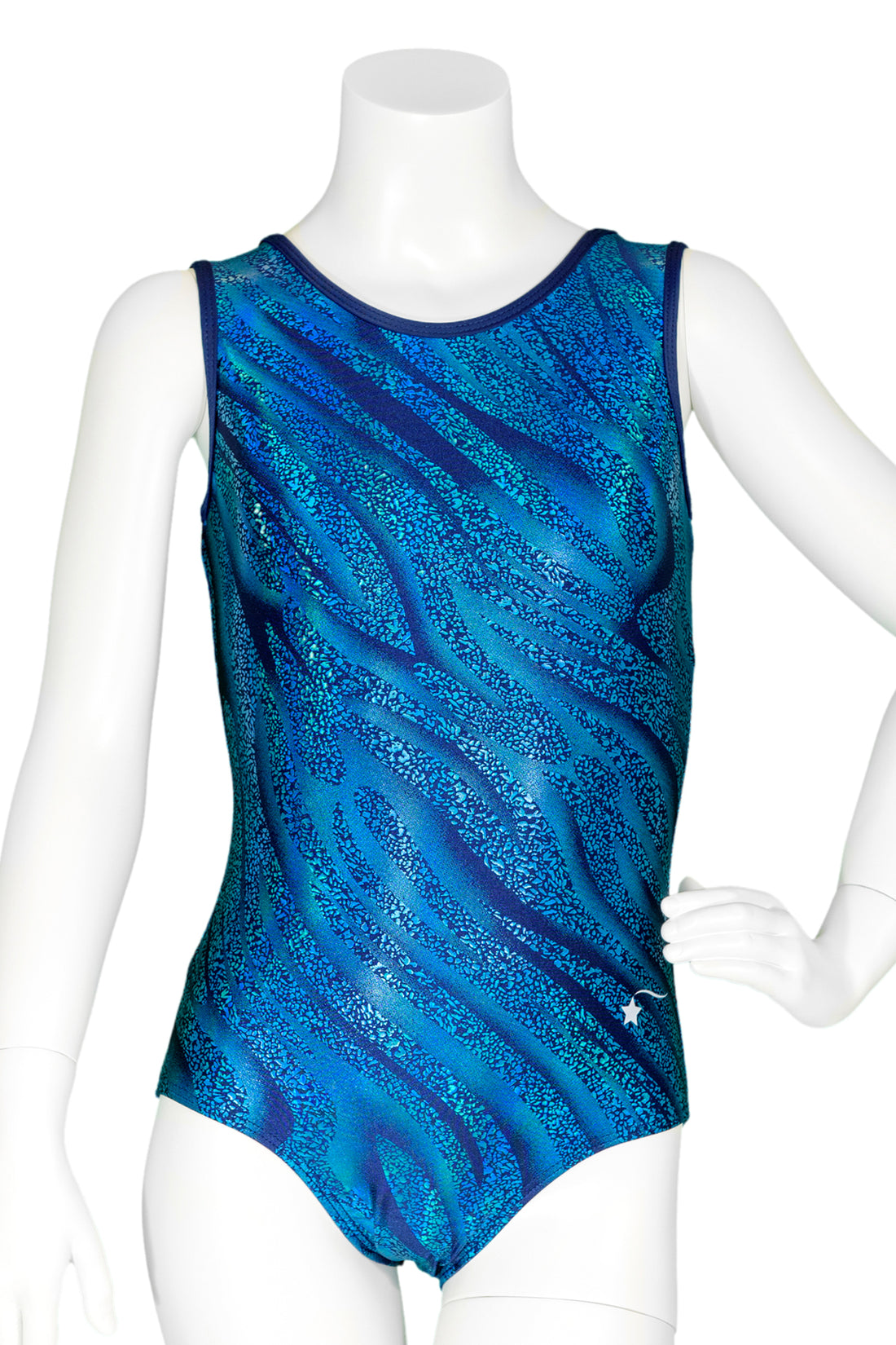 Navy Night Sky Leotard