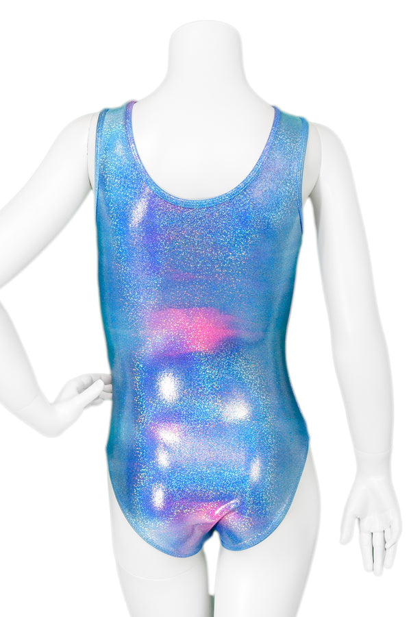 Pink and Blue Twinkle Leotard