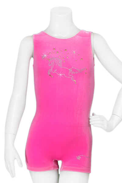 Folly Pink Unicorn Unitard