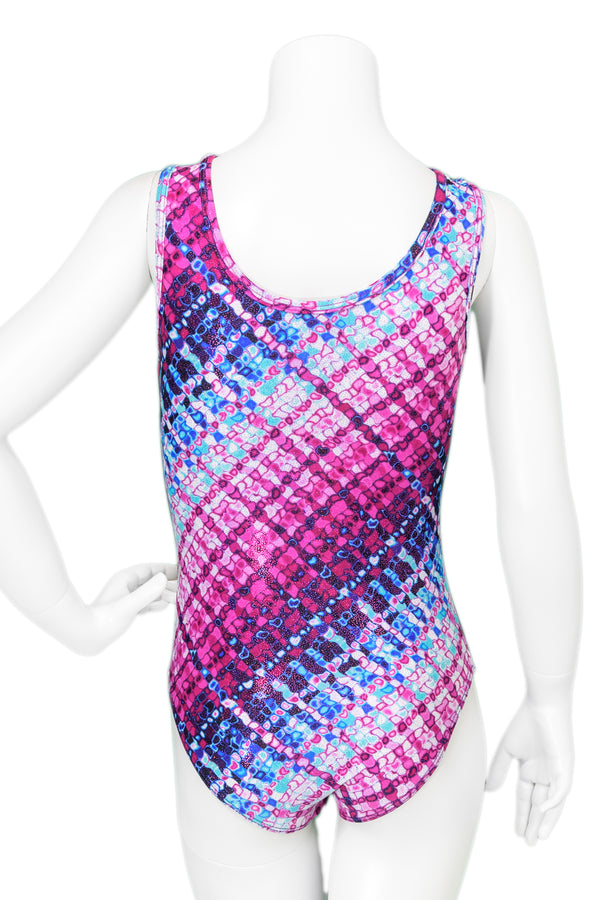 Kaleidoscope Drop Shoulder Tank