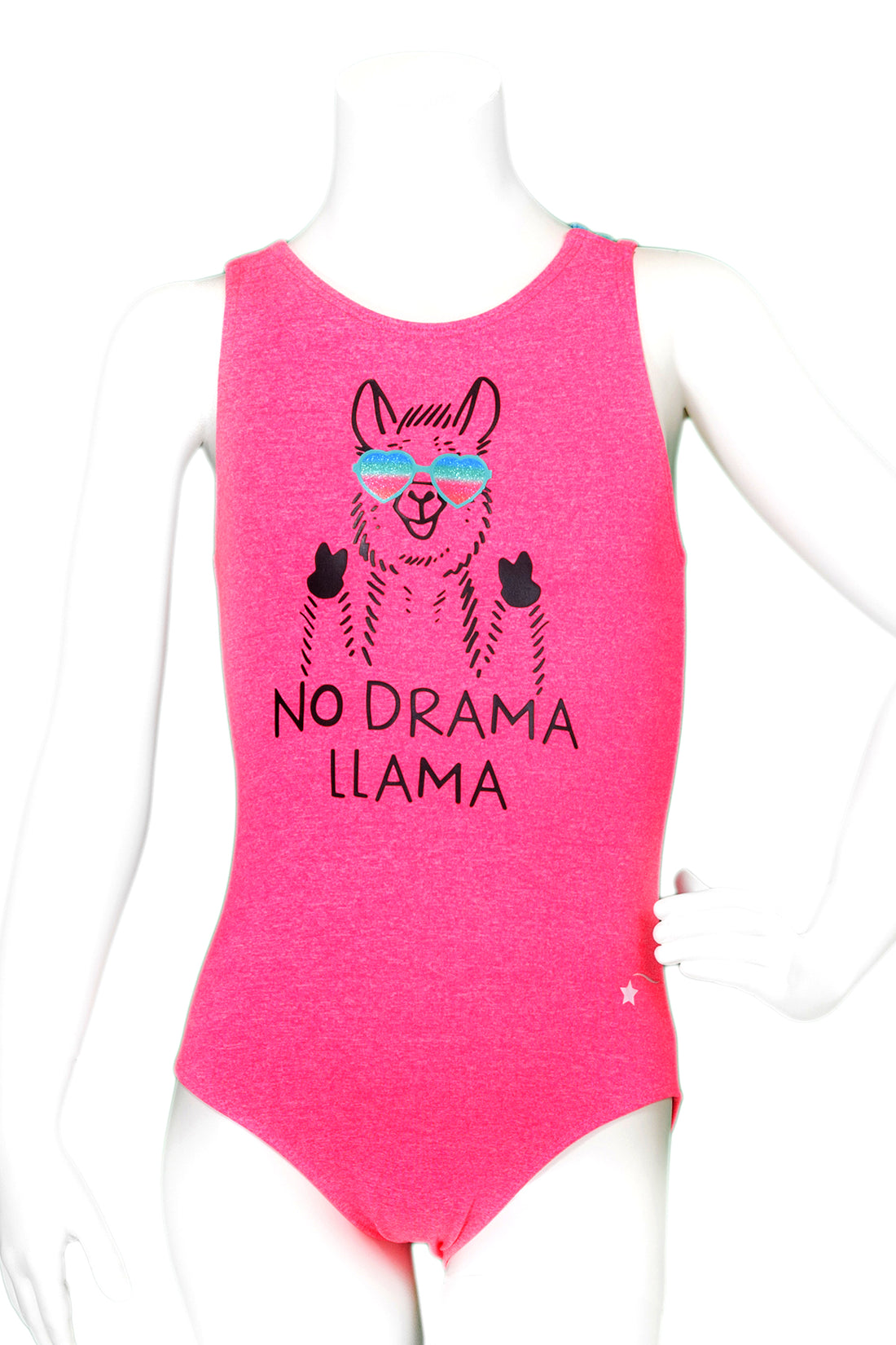 f422c4ca2 Buy No Drama Llama Woven Back Leotard – Destira