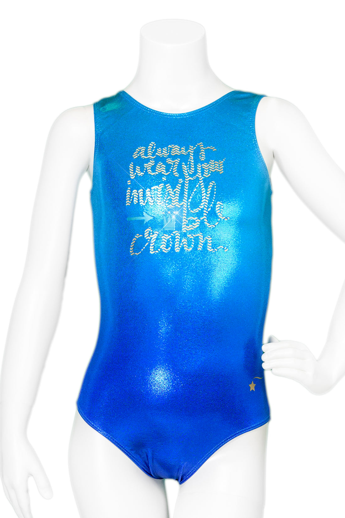 8b3268779a42 Always Wear Your Invisible Crown Ombre Leotard – Destira