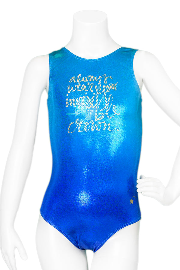 Always Wear Your Invisible Crown Ombre Leotard