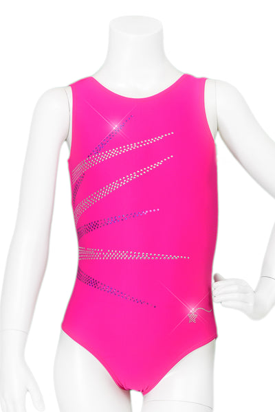 Fuchsia Burst Leotard