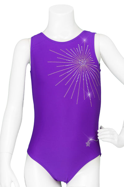 Purple Sun Burst Leotard