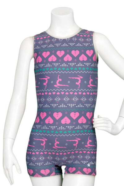 Fair Isle Sweater Unitard