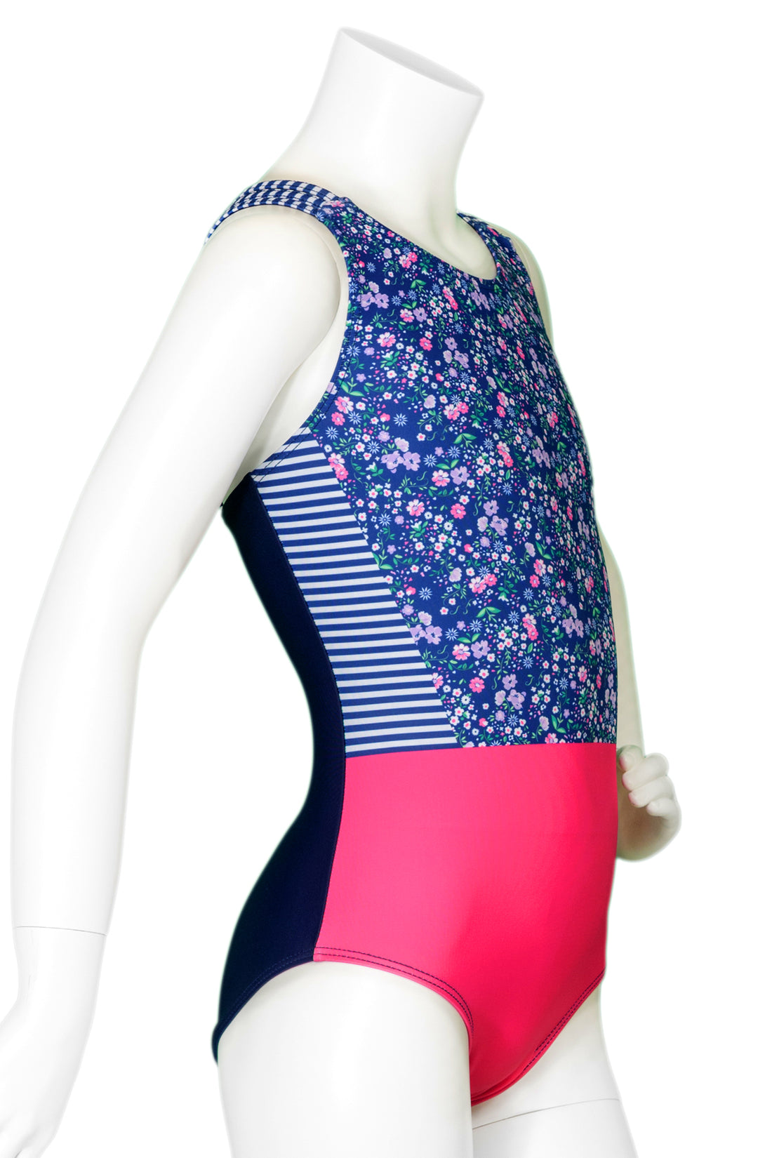 Ditsy Floral Woven Back Leotard