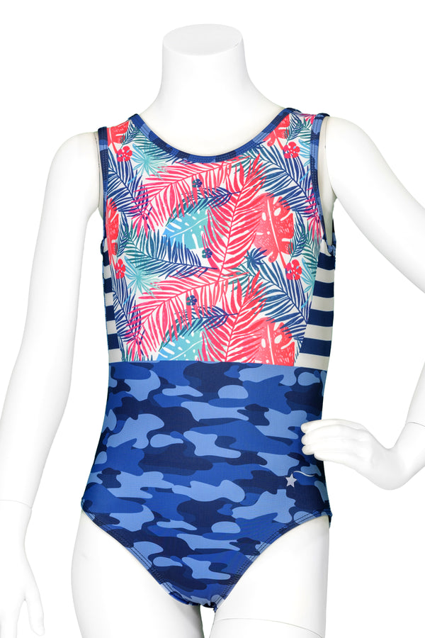 Tropical Camo Leotard