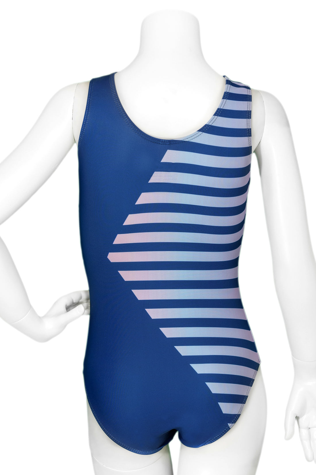 Ombre Stripe Leotard
