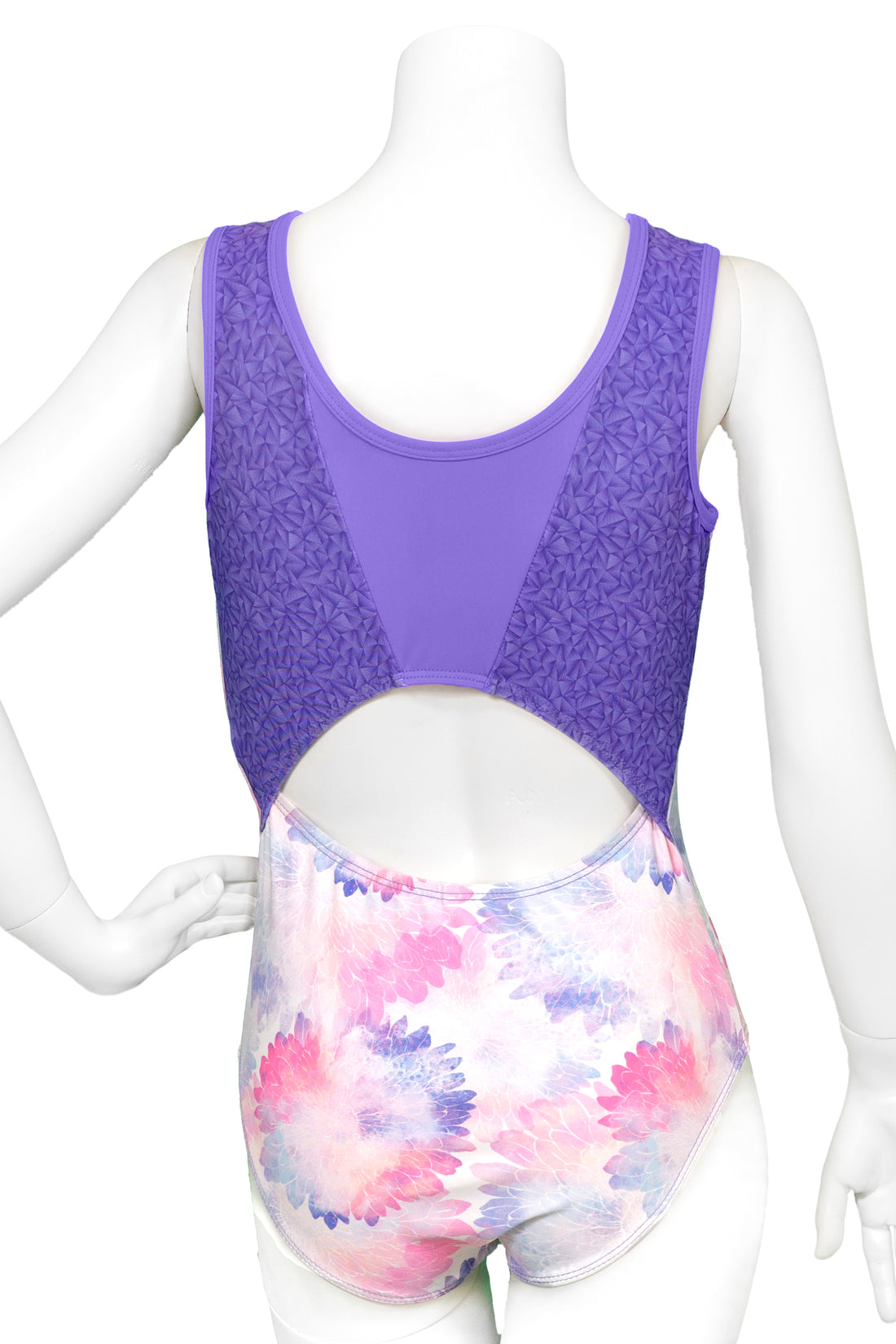 Water Lilies Split Back Leotard