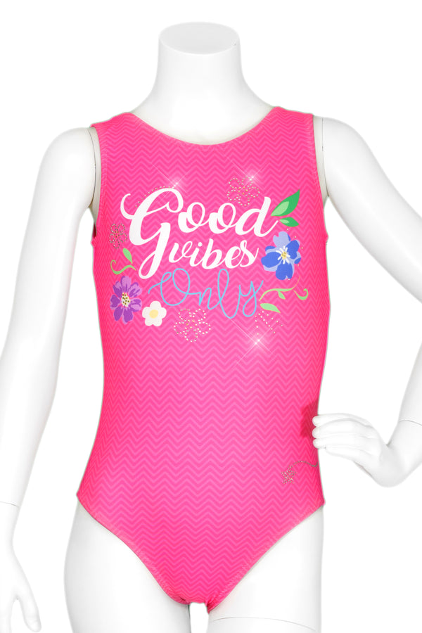 Good Vibes Perfect Tank Leotard