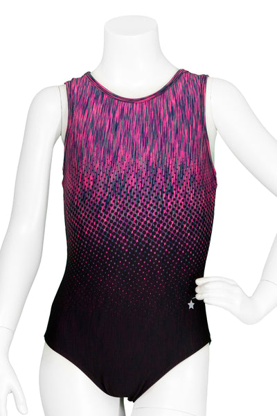 Aerial Berry Racer Back Leotard