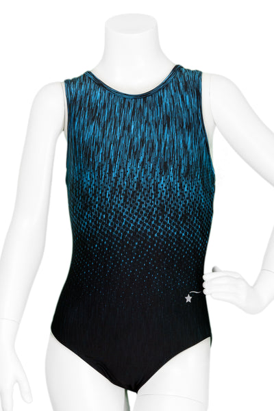Aerial Teal Racer Back Leotard
