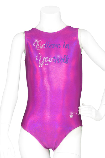 Believe In Yourself Orchid Leotard