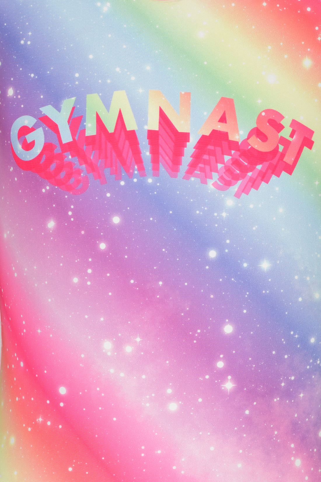 Rainbow Gymnast Leotard