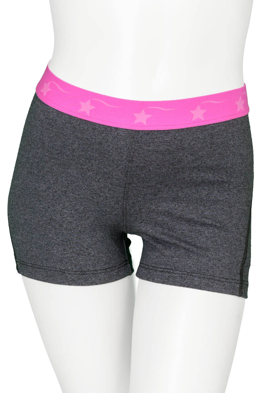 Grey with Pink Power Flex Short