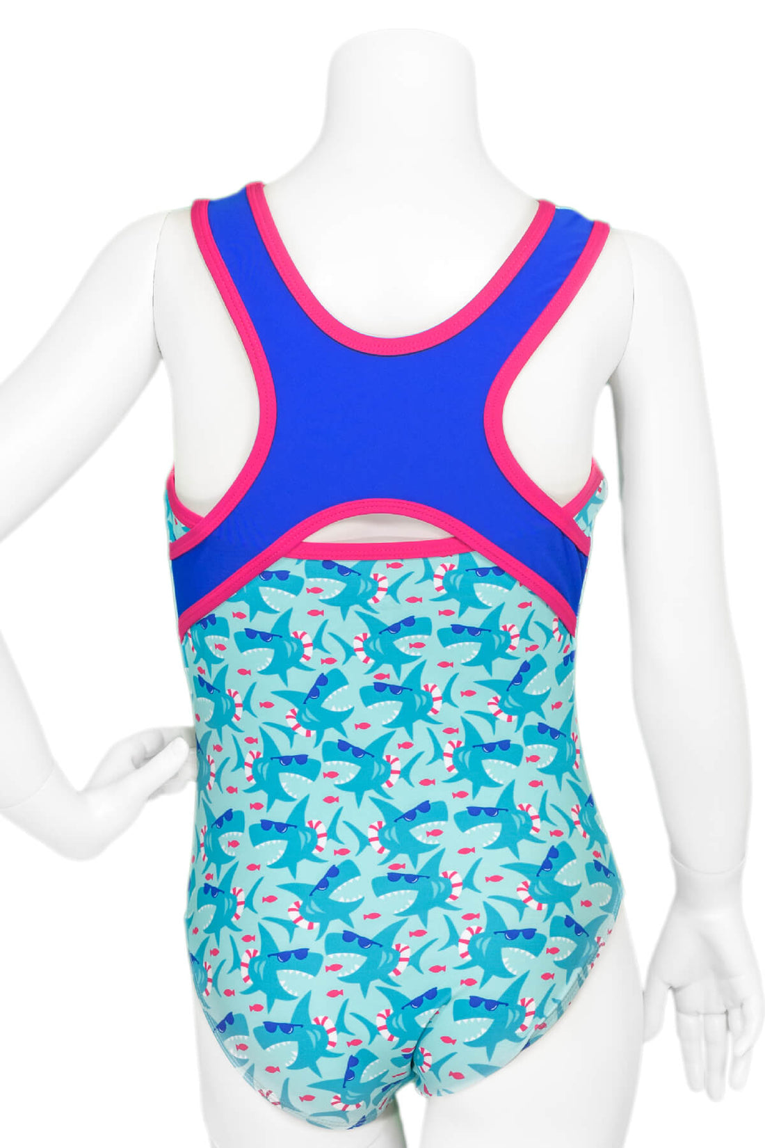 Shark Party Leotard