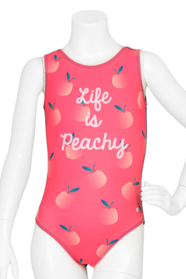Life Is Peachy Leotard