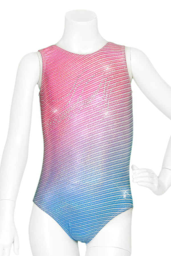 USA Ombre Waves Leotard
