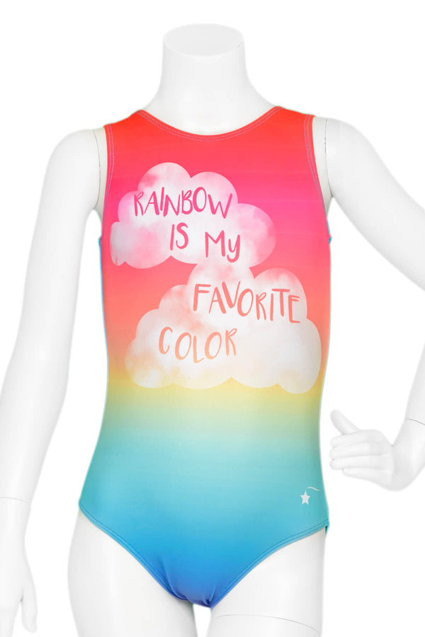 Favorite Color is Rainbow Leotard