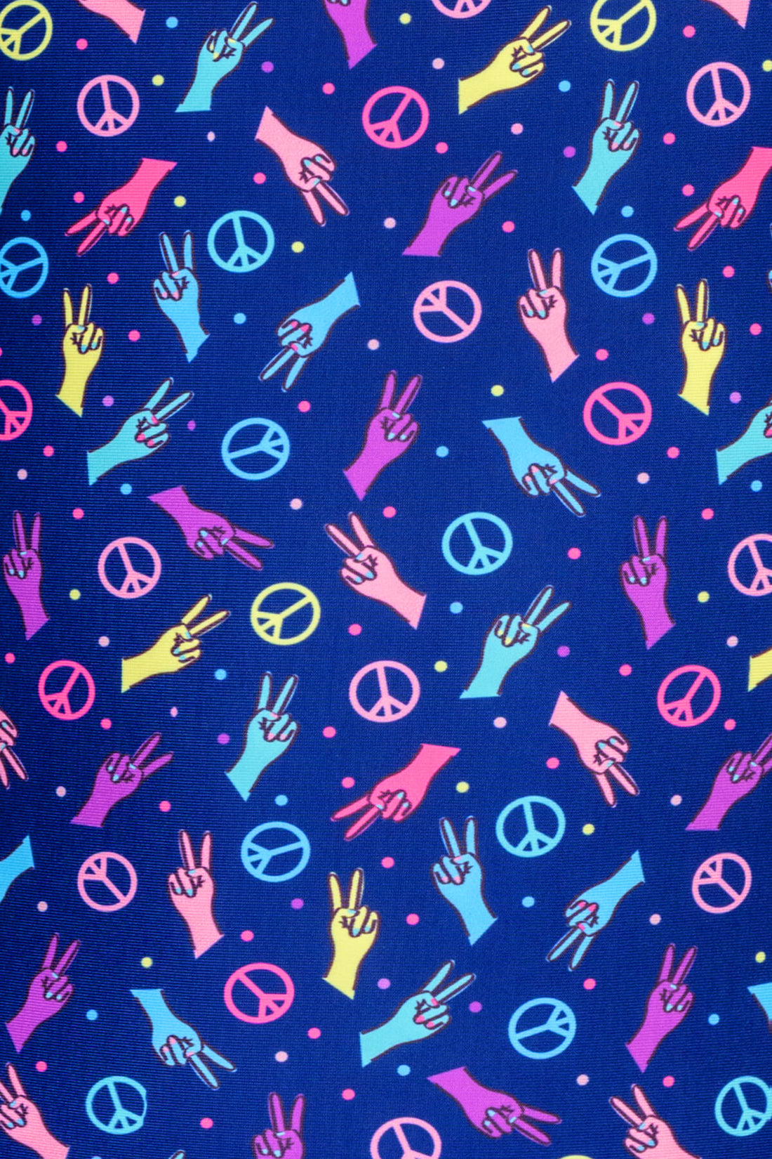 Peace Signs Leotard