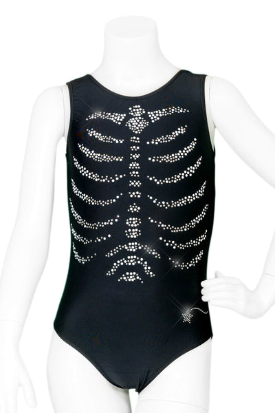 Crystal Ribcage Leotard