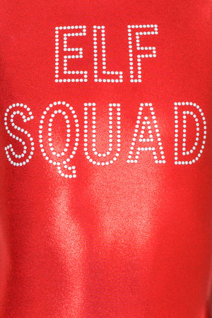 Elf Squad Leotard