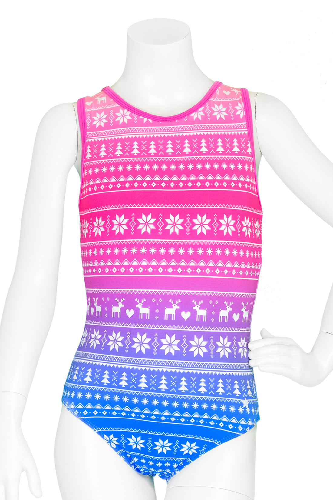 Fair Isle Ombre Leotard