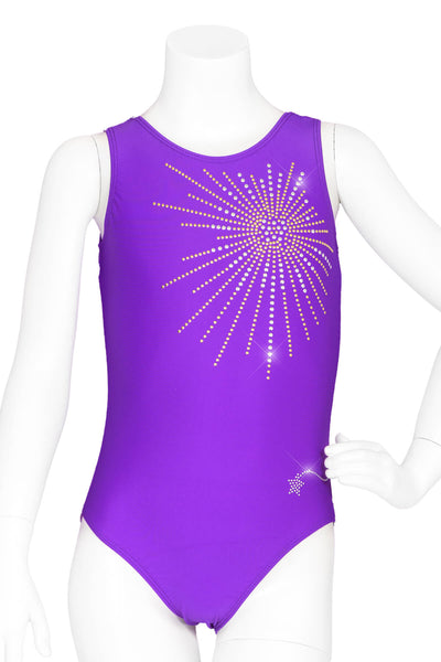 Purple Burst Leotard