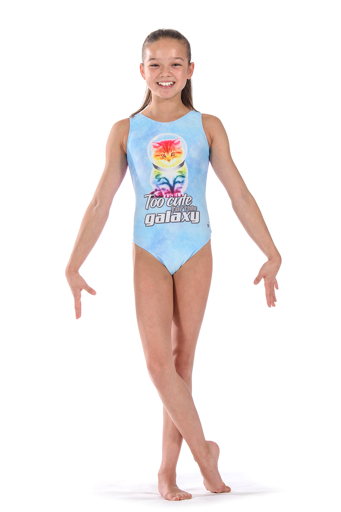 Galaxy Cat Leotard